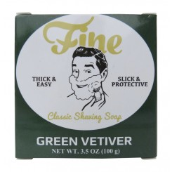Green Vetiver - Fine Classic Shaving Soap - 100gr