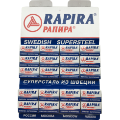 100 pcs Rapira Swedish Supersteel
