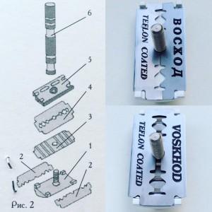 Saiver 2.0 Double DE safety razor with open comb