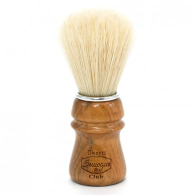 SOC - Semogue owners club Shaving Brush - Cherry or Ash handle - Boar Bristle