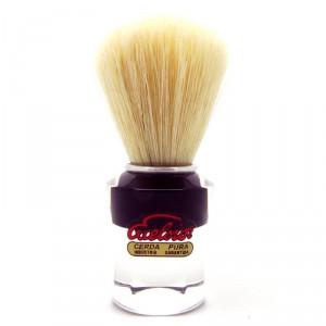 Semogue 610 Shaving Brush, red or black handle - Boar Bristle