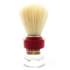 Semogue 610 Shaving Brush, red or black handle - Boar Bristle