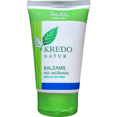 After Shave Balm 125ml Dzintars Kredo Natur