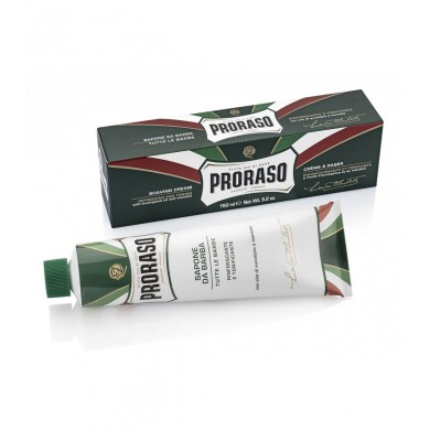 Proraso  shaving soap in a tube - Refreshing and Toning - 150ml