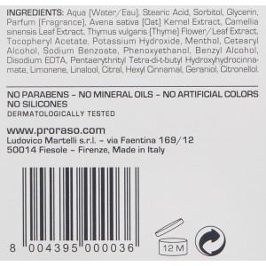 Proraso Pre-Shave Cream, Sensitive Skin, 100 ml
