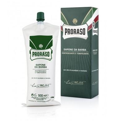 Proraso Shave Cream Menthol & Eucalyptus 500ml (Barber Tube)