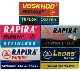 25 Blades Sample Pack Voskhod & Rapira