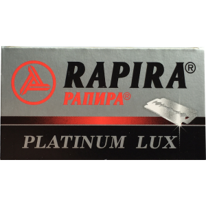 5 Blades Rapira Platinum Lux -  one pack