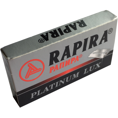 5 Blades Rapira Platinum Lux -  one pack