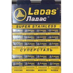100 pcs Ladas Super Stainless Razor Blades